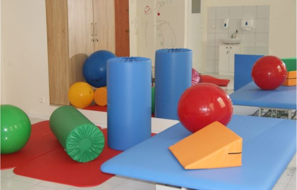 Equipment set for Vojta exercise room